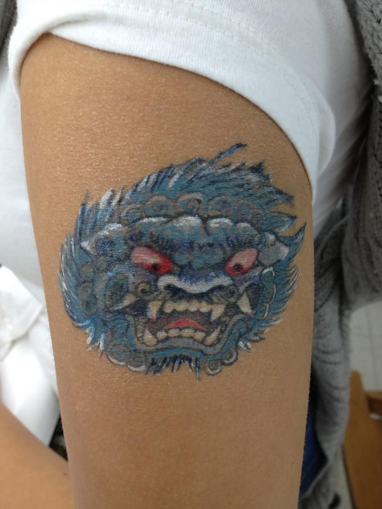 fake Tattoo colored